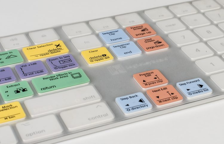 New LogicKeyboard Skins Available for Apple Magic Numeric Keyboard — Logickeyboard