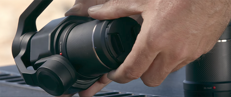 DJI Releases the 6K Zenmuse X7 Camera and 4 Prime Lenses — 14 Stops