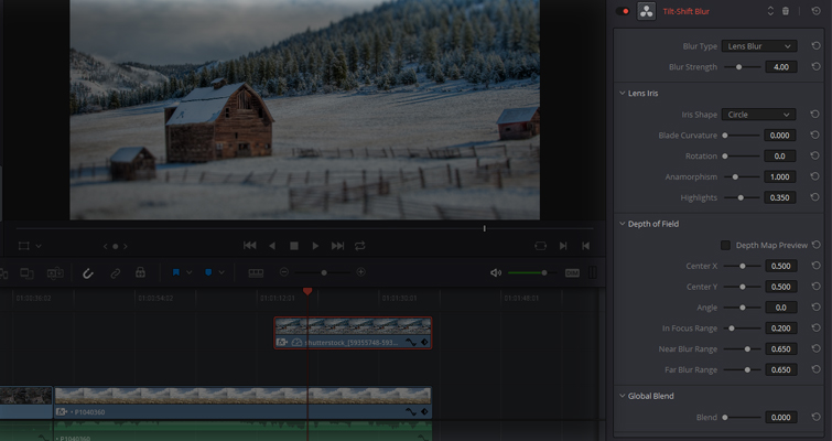 Learn How To Create A 'Deakinizer' Tilt-Shift Effect In Resolve — ResolveFX Stylize