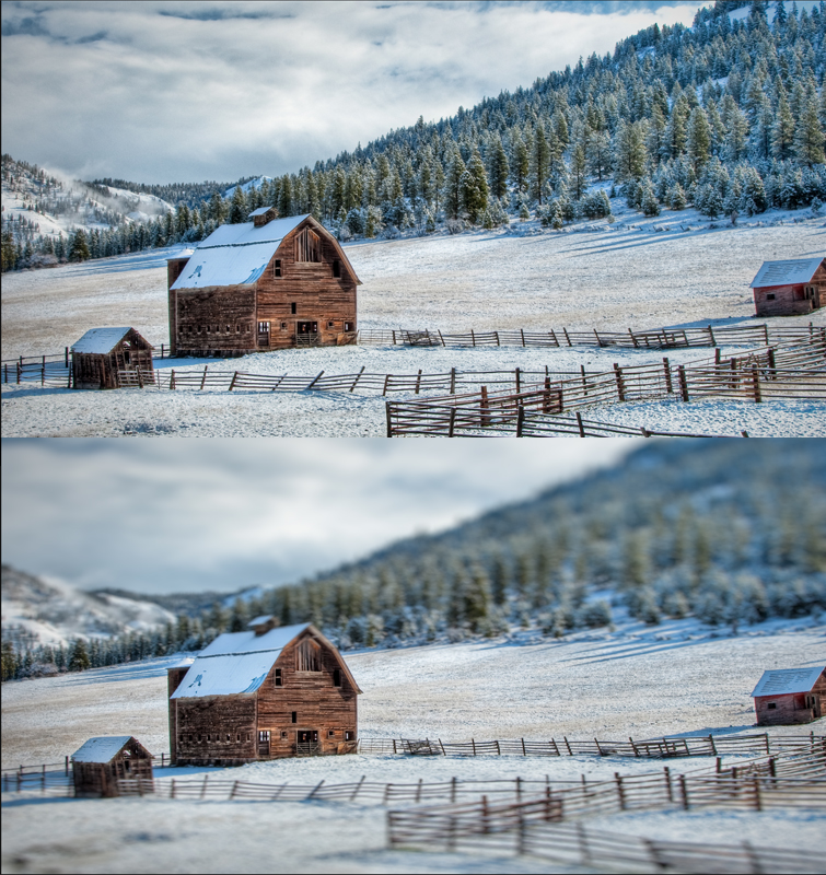 Learn How To Create A 'Deakinizer' Tilt-Shift Effect In Resolve — Before and After