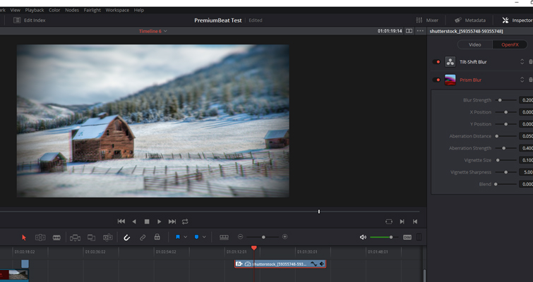 Learn How To Create A 'Deakinizer' Tilt-Shift Effect In Resolve — Prism Blur