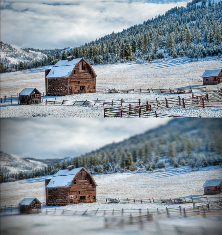 Learn How To Create A 'Deakinizer' Tilt-Shift Effect In Resolve — Added Film Grain