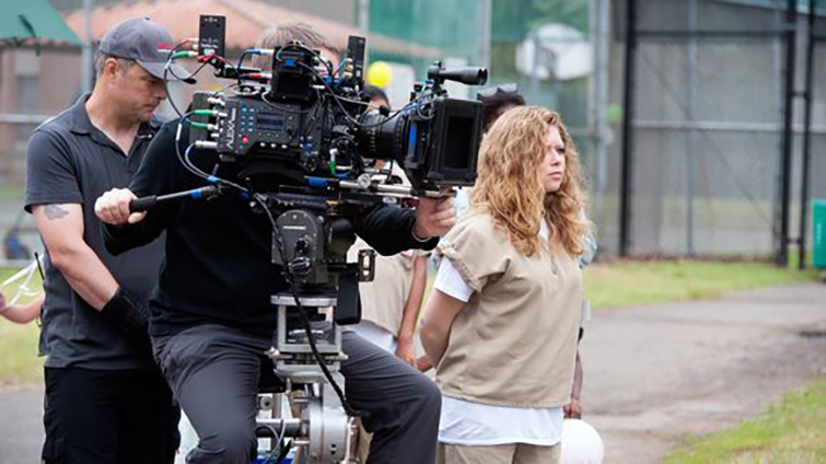 The Cameras Behind Netflix Original Films and Series - Orange