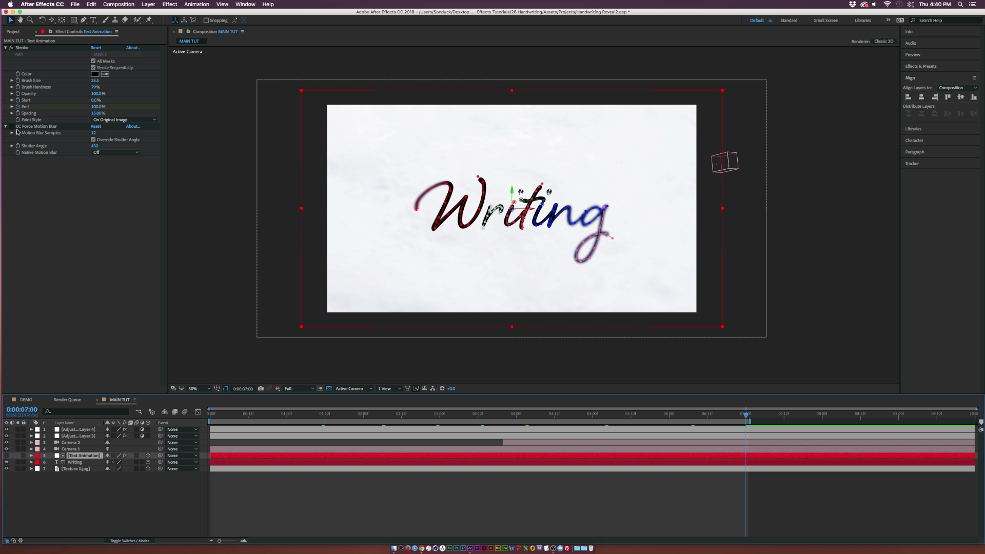 Animate Your Text with Handwriting Motion Graphics — Create Text