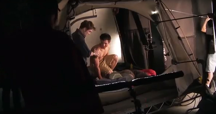 Three Ways To Light A Tent Scene On a Low Budget — Tent Lighting Behind the Scenes