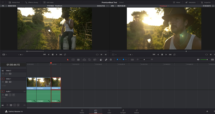 How to Create A Realistic Lens Flare In DaVinci Resolve — Color Page