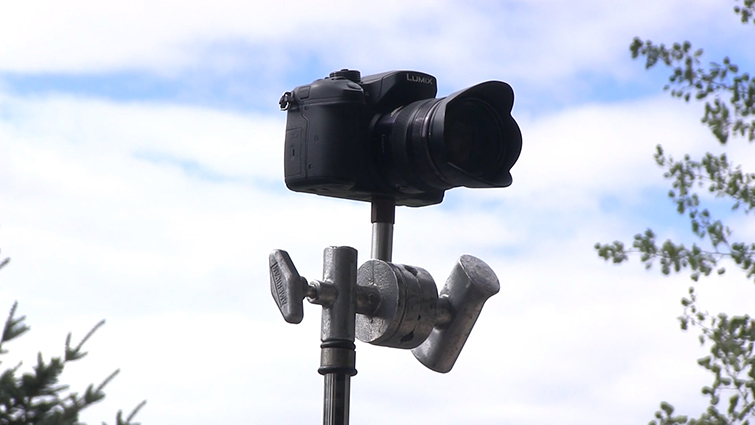 Grip Tricks: Creating Do-It-Yourself Camera Rigs — C-Stand Rig