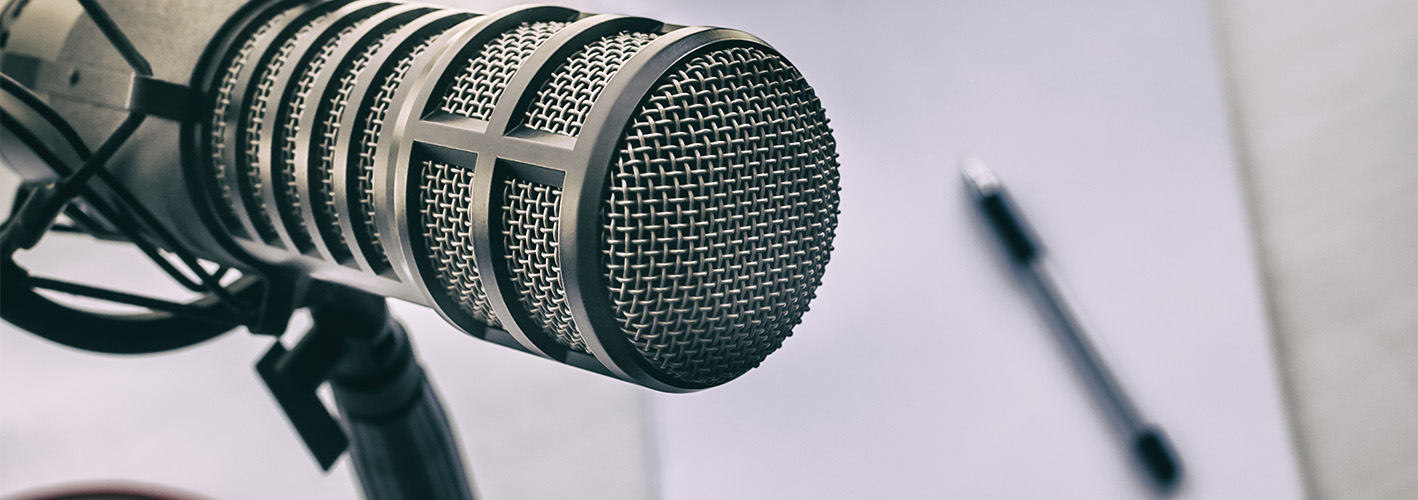 The Perfect Soundtrack for Your Next Podcast — Microphone