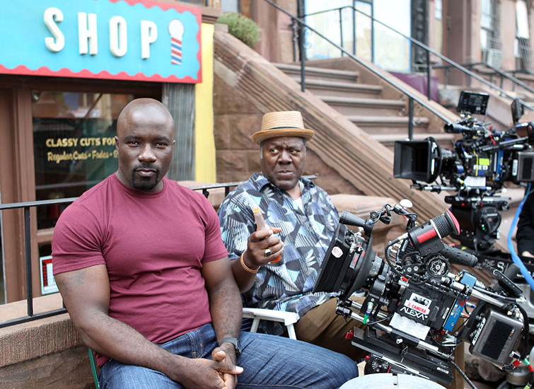The Cameras Behind Netflix Original Films and Series - Luke Cage
