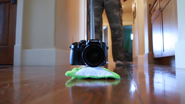 Grip Tricks: Creating Do-It-Yourself Camera Rigs — Swiffer Rig