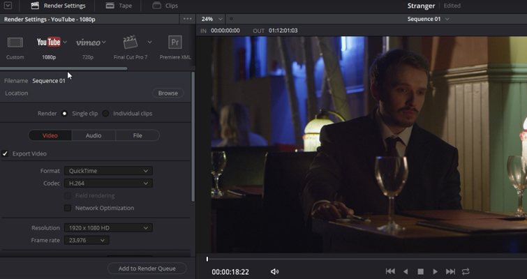 Resolve 14's Best Editing Features For The Online Content Creator — YouTube Vimeo Uploads