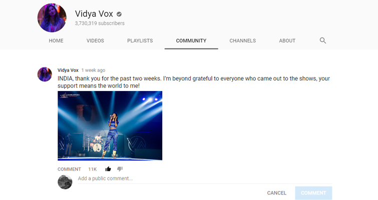 Engage Your Audience with YouTube's New Community Tab — Text Post