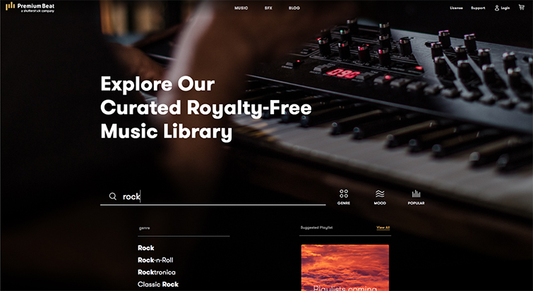 Discover The Completely New PremiumBeat.com — Music Library