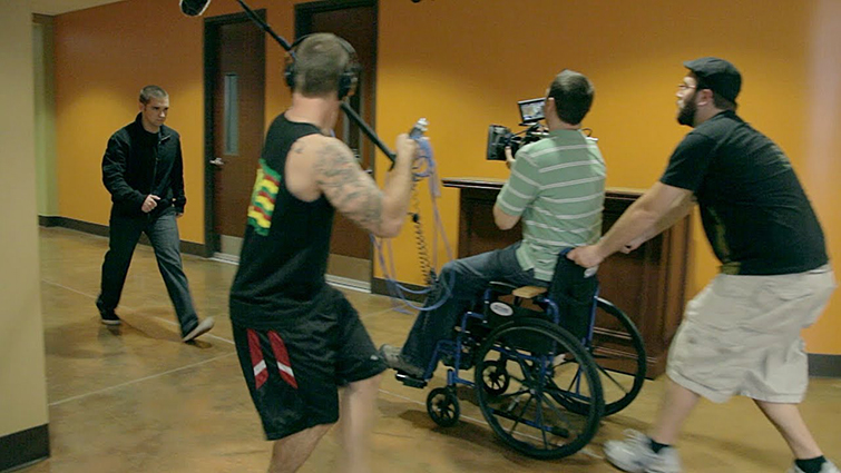 7 DIY Filmmaking Techniques Using the Versatile Wheelchair Dolly — Natural Gravity
