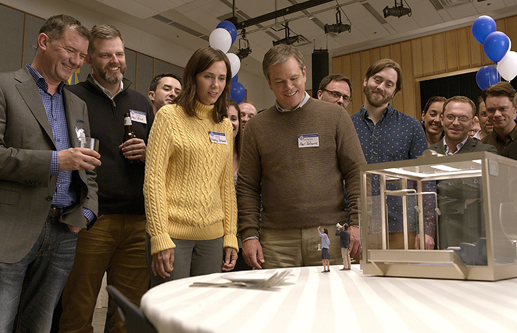 Interview: How This Oscar-Nom Edited Downsizing While Directing His First Feature - Downsizing