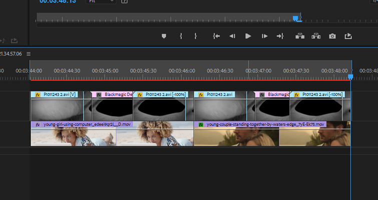 How To Create a Blinking Eye Transition in After Effects — Transition Timeline