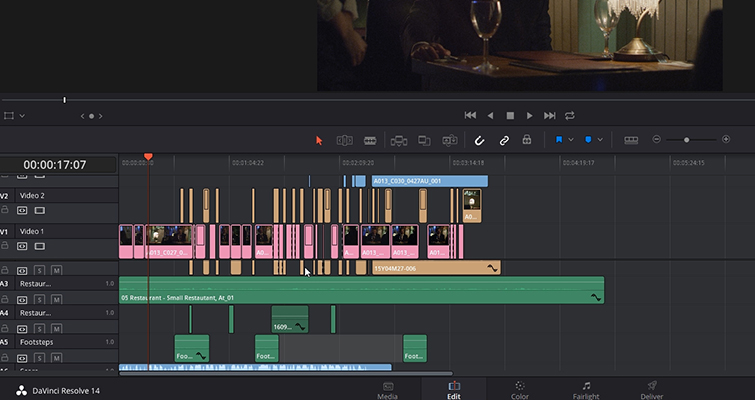 Learn How To Create A Sub Mix In DaVinci Resolve 14 — Sub Mix