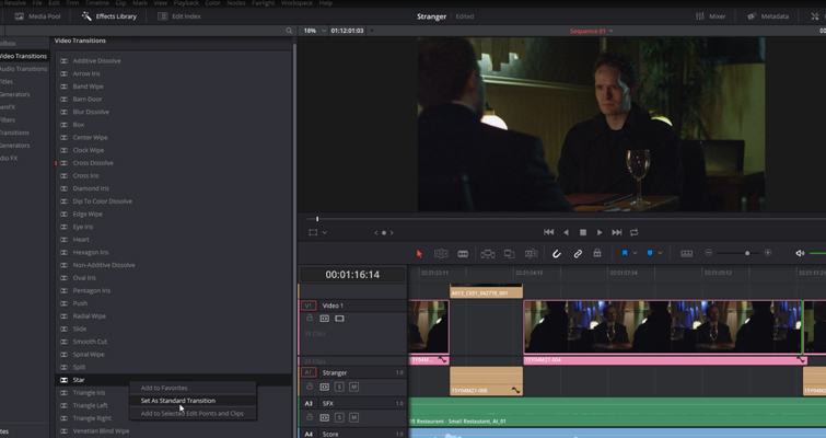 Resolve 14's Best Editing Features For The Online Content Creator — Favorite Transition
