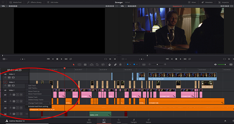 Check Out the Latest Developments in Resolve 14.1 and 14.2 — Exclude Track Caching