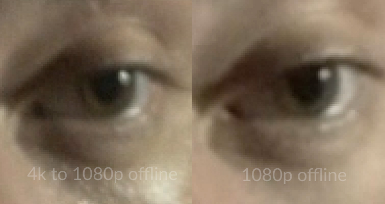 Is Downscaling 4K to 1080p Worth It After Online Compression? — 1080p Comparisons