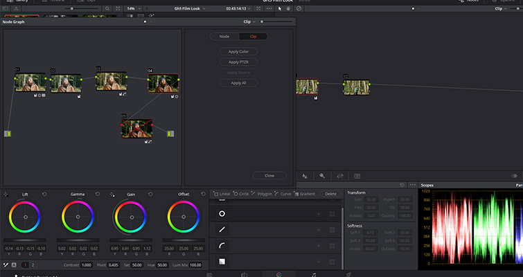A Look At DaVinci Resolve's New Node Graph Feature — Open Node Graph