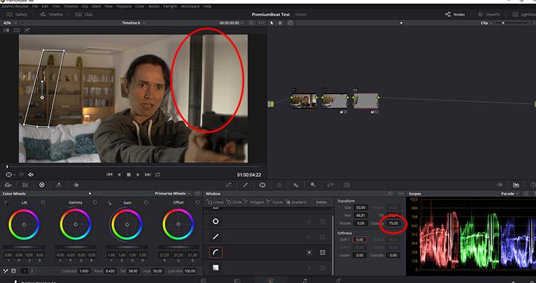 How to Replicate Cast Shadows In DaVinci Resolve — Shadow Density
