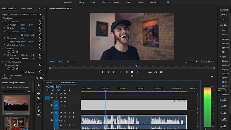 7 Tips to Speed Up Your Next Edit Using Audio Waves — Finding Laughter