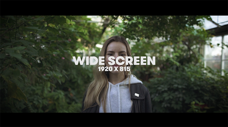 Choosing the Best Aspect Ratio for Your Video — Wide Screen