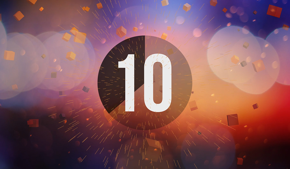 animate a top 10 countdown screen using after effects