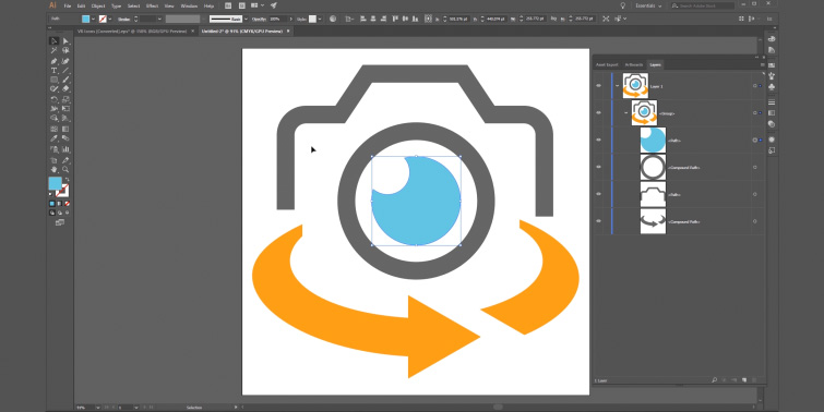 how to use illustrator to get vector