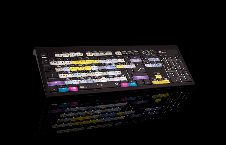 Illuminate Shortcuts with logickeyboard's Cinema 4D Backlit Keyboard — Backlight