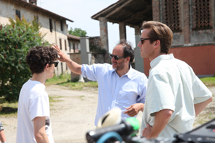 The Cameras and Lenses Behind 2018 Oscar-Nominated Films - Call Me By Your Name Set