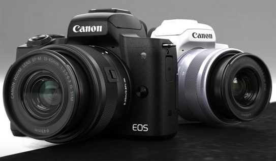 Canon Joins the Mirrorless Camera Game with the EOS M50