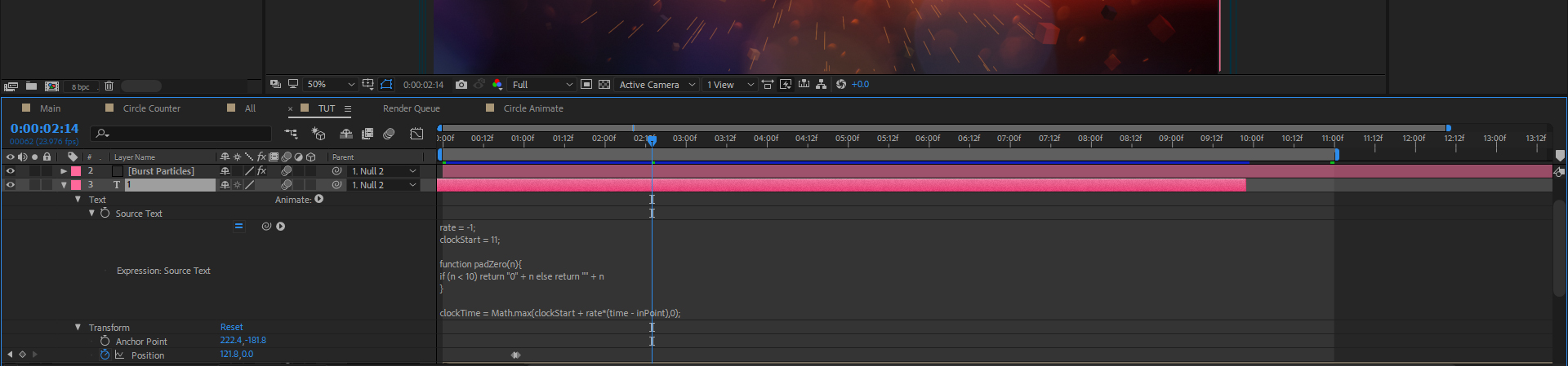 """Animate A """"Top 10 Countdown"""" Screen Using After Effects — Automated Expression"""