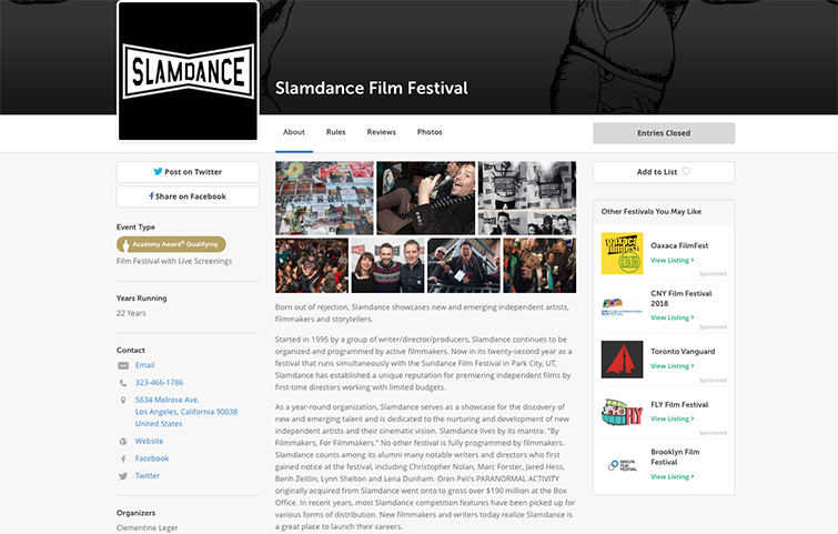 What to Include When Submitting Your Film to Festivals — Target Audience