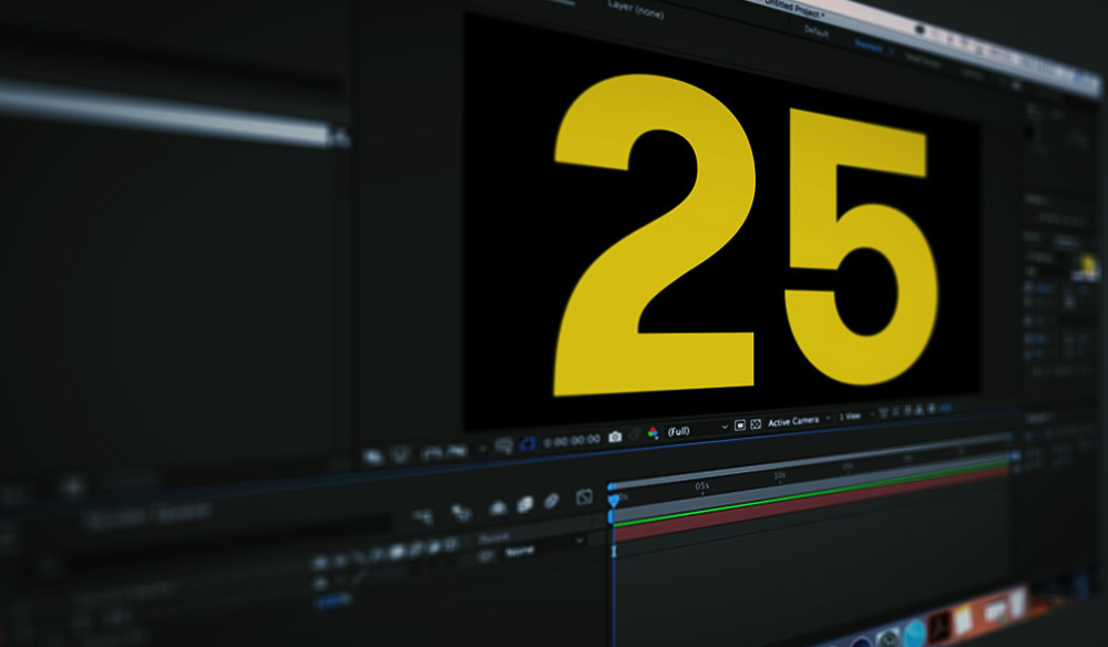 25 Free AE Templates and Assets to Celebrate 25 Years of