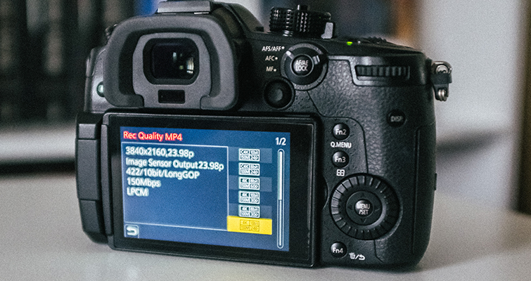 Using 23.98 NTSC On The LUMIX GH5S in A PAL Region — Settings
