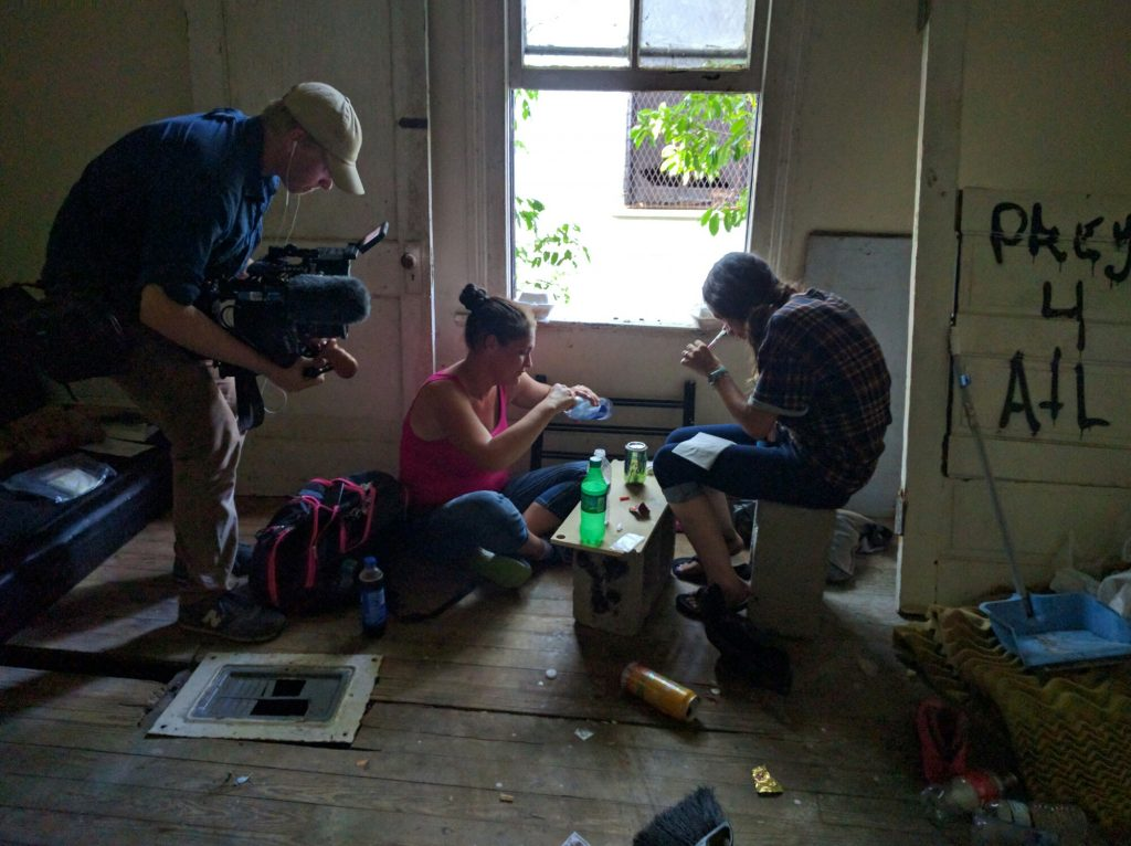 Interview: Showtime Docuseries Cinematographer from The Trade — Production