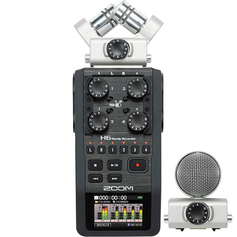 Audio Tip: How to Get Good Sound on Every Budget — Zoom H6 Handy Recorder