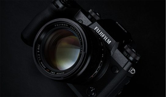 NAB 2018: Fujifilm's X-H1 Camera Gets Put to the Test