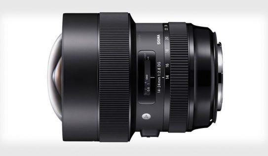 NAB 2018 Announcement: Meet Sigma's 14-24mm f/2.8 Art Lens