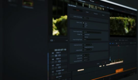 Get To Know DaVinci Resolve 15's Super Scale Feature
