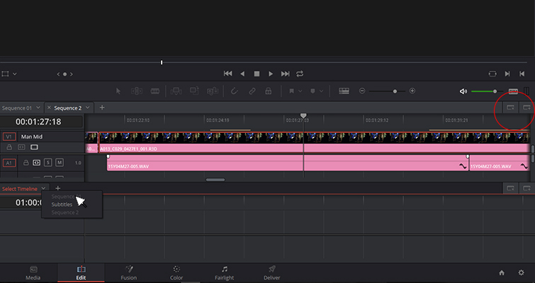 The New Features of DaVinci Resolve 15's Edit Page — Stacked Timelines