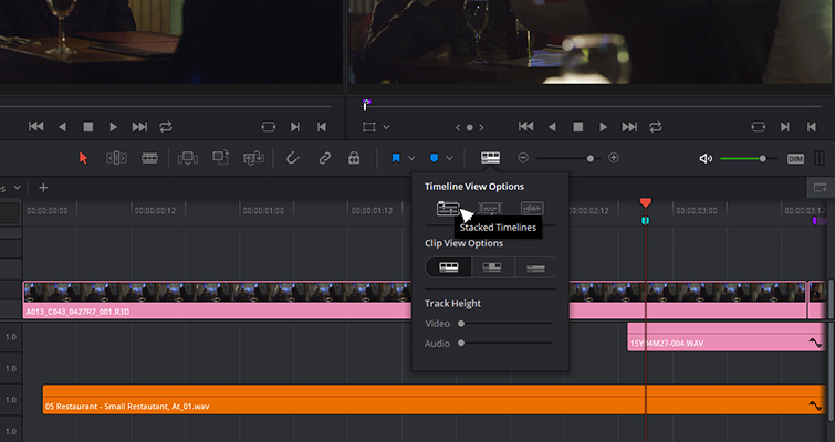 The New Features of DaVinci Resolve 15's Edit Page — Tabbed Timelines