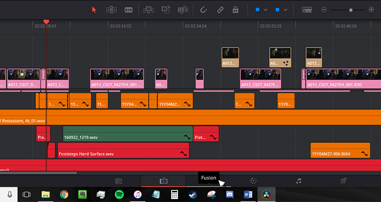 The New Features of DaVinci Resolve 15's Edit Page — Toolbar