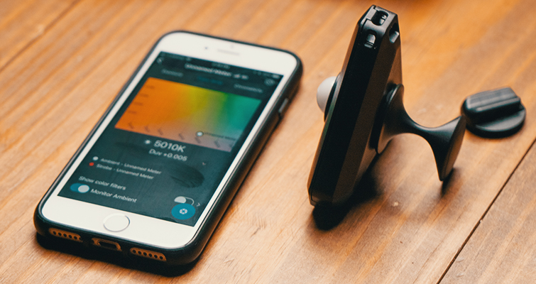 Review: The Illuminati — A Hands-Free Light Meter — Meter and Phone