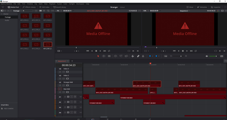 What You Need to Know about Working with Project Files in DaVinci Resolve — Offline Media