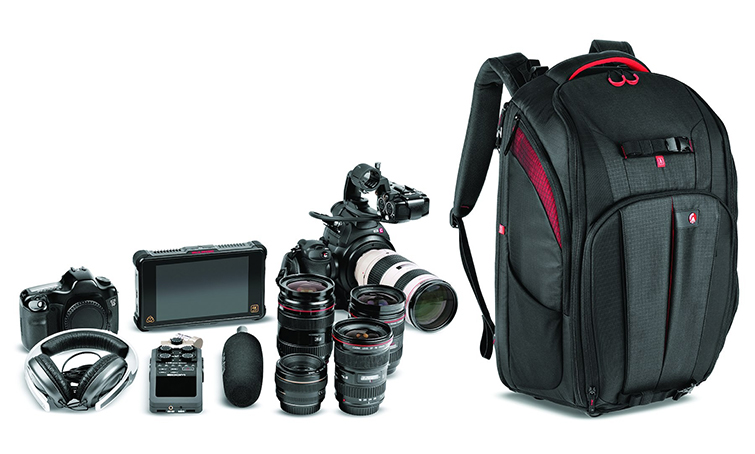 NAB 2018 Announcement: Manfrotto Gear Sets Filmmakers Free — Cinematic Balance Backpack