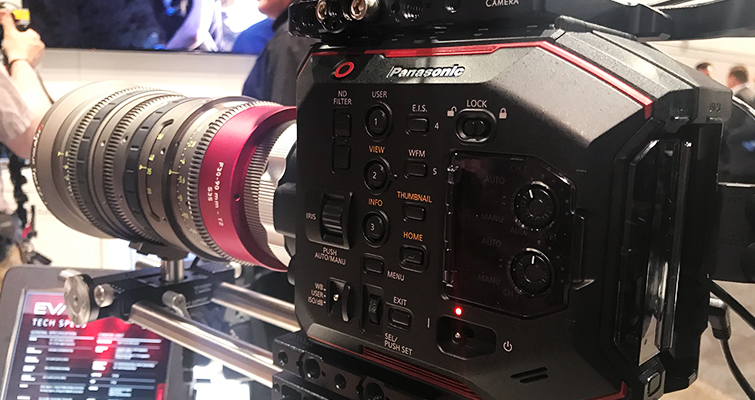 NAB 2018: Panasonic Shows Off The EVA1's Low Light Performance — Cinema Camera