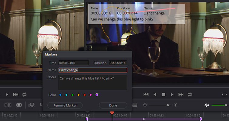 The New Features of DaVinci Resolve 15's Edit Page — Annotations